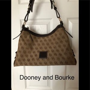 Dooney and Bourke canvas purse